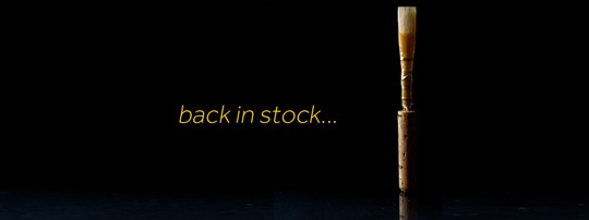 Torda reeds back in stock!