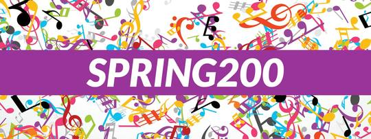 Save up to £200 off your order with 'SPRING200'
