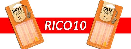 Two Rico reed triple packs for £10