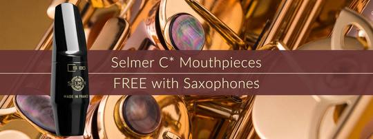 FREE Selmer C* with Saxophones