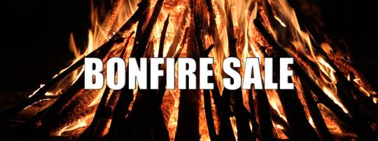 Bonfire Sale - Grab these hot offers while you can!