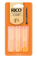 Rico Bb Clarinet Reeds (pack of 3)
