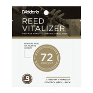 D'Addario Reed Vitalizer Two-Way Humidity Control Refill Pack (72%)