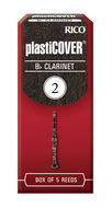 Rico Plasticover Bb Clarinet Reeds (Box of 5)