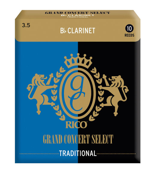 Grand Concert Select Traditional Bb Clarinet Reeds (Box of 10)