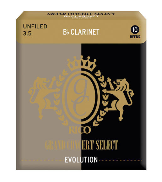 Grand Concert Select Evolution Bb Clarinet Reeds (Box of 10)