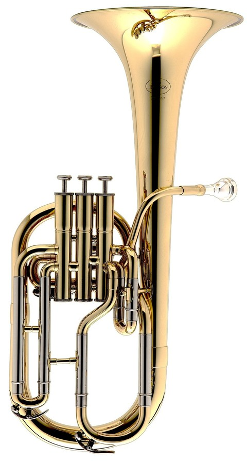Alto Horns Tenor Horn Attractive And Durable Brass Windcraft Wth-100s Silver Plated