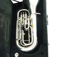 Secondhand Besson New Standard Bb Euphonium Silver Plated