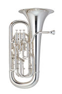 John Packer JP374T Sterling Trigger Euphonium Silverplate (EX DEMO A)