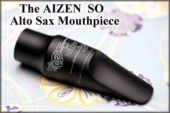 Aizen Alto Sax Eb Mouthpiece SO 6 Ebonite