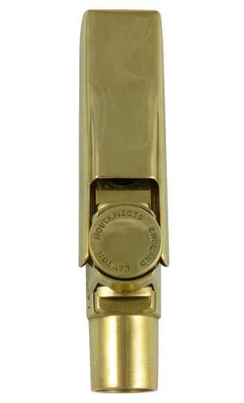 Lawton 5BB Alto Saxophone Mouthpiece (Gold Plate)