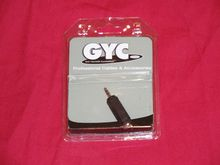 GYC - Jack Plug Adaptor - Std socket to mini plug - LP4