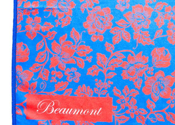 Beaumont 'Roses' Polishing Cloth