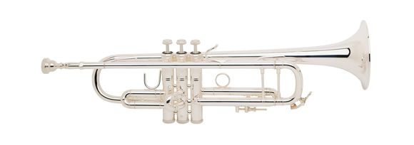 Bach Trumpet Bb 180ML43S Stradivarius Silver Plated