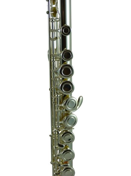 Elkhart  Flute Curved+Straight Head in Silver Plated