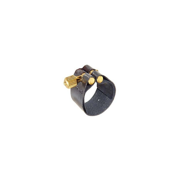 Rovner Sop Sax Bb Ligature 1MS Black for metal M/P