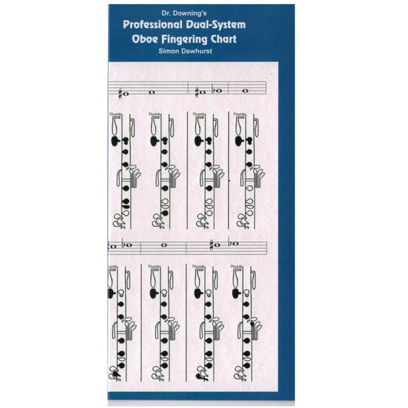 Dr Downing Oboe (Dual System) Fingering Chart