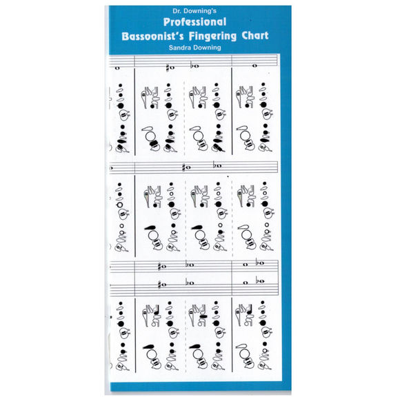 Dr Downing Bassoon Fingering Chart