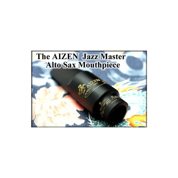 Aizen Alto Sax Eb Mouthpiece Jazz Master 8 Ebonite