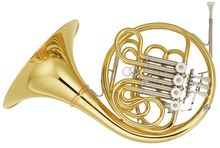 Yamaha YHR671D Bb/ F Dbl French Horn  (Detachable Bell)
