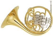Yamaha YHR671 Bb/ F Double French Horn
