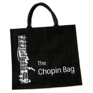 Black 'Chopin Bag' Shopping Bag
