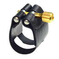 Rovner Light Black L12 Bb Tenor Sax Ligature for metal mouthpiece
