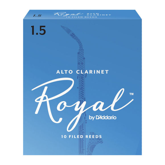 Royal Alto Clarinet Reeds (Box of 10)
