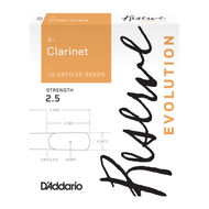D'Addario Reserve Evolution Bb Clarinet Reed