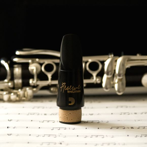 D'Addario Reserve Evolution EV10E Bb Clarinet Mouthpiece 442Hz Pitch