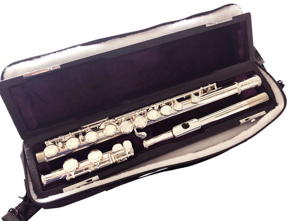 Trevor James TJ10X Flute with '925 Silver' Lip & Riser
