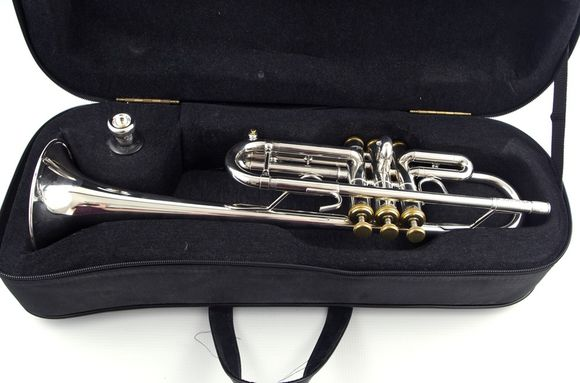 Secondhand Stomvi Forte C Trumpet Silverplate