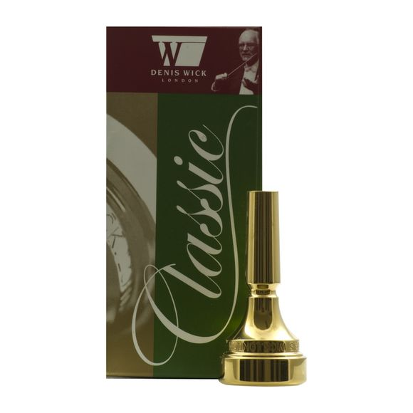 Denis Wick DW4884 Classic Flugel Horn Mouthpiece (Gold Plate)