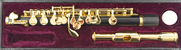 Secondhand John Packer JP114G Piccolo - Gold plate keywork