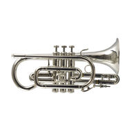 Secondhand Bach Stradivarius 184 Bb Cornet Silverplate
