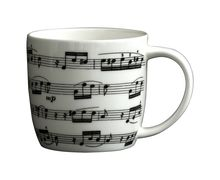 Manuscript White Bone China Mug