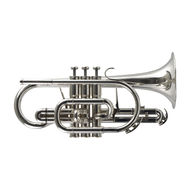 Secondhand Besson BE928 Sovereign Bb Cornet Silverplate