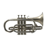 Secondhand B&H Imperial Bb Cornet Frosted Silver