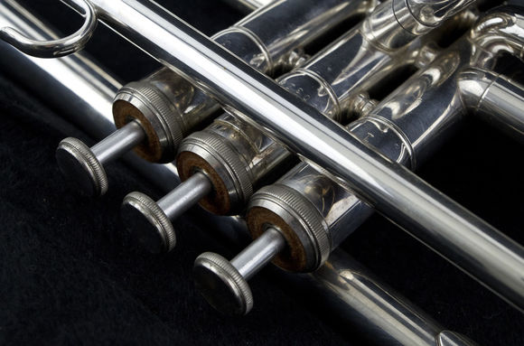 Secondhand Yamaha 1320ES Bb Trumpet Silverplate