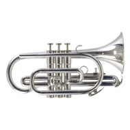 Secondhand Besson 600 Bb Cornet Silverplate