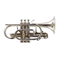 Secondhand Geneva Symphony Bb Cornet Silverplate