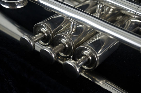 Secondhand Besson 600 Bb Cornet Silver Plate