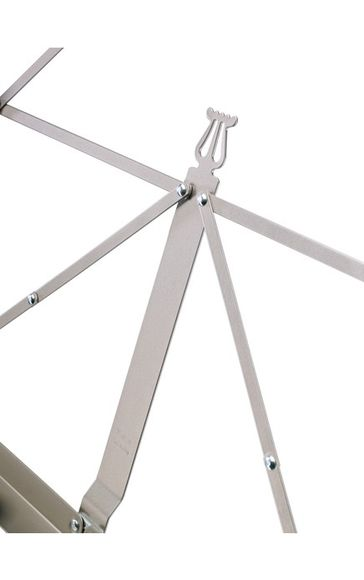 K&M 101 Music stand (Nickel Plated)