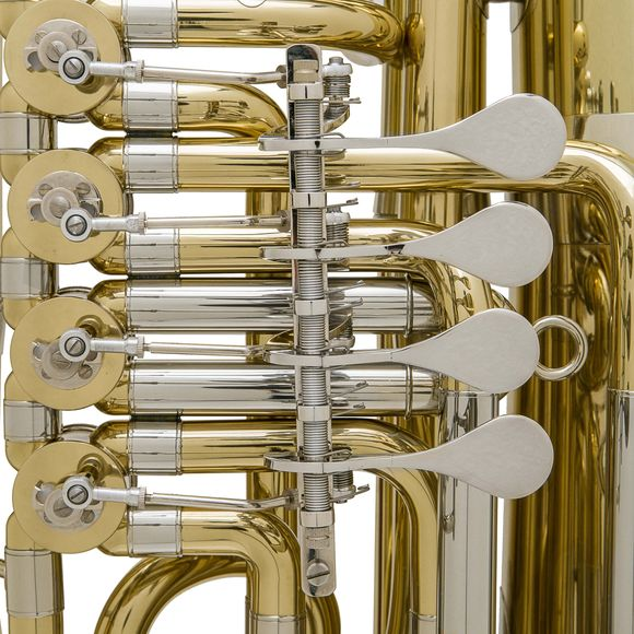 John Packer JP379BB Sterling BBb Rotary Tuba