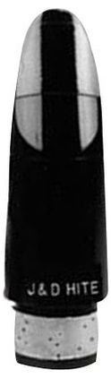 Hite Clarinet Bb Mouthpiece D (121-M) Black