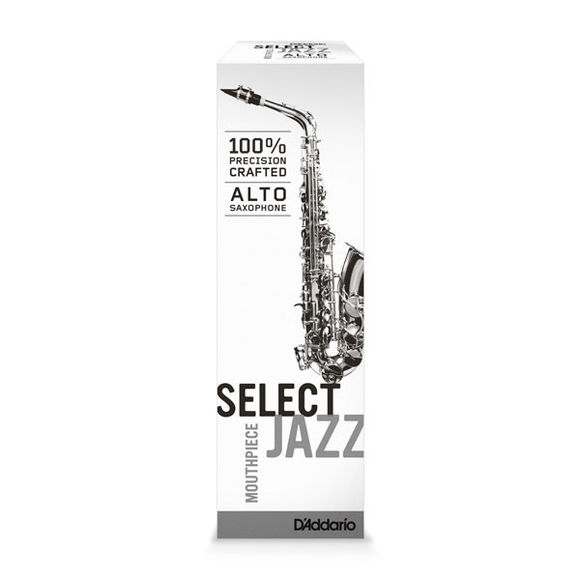 D'Addario Select Jazz D6M Alto Sax Eb Mouthpiece Ebonite