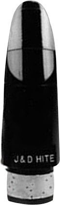 Hite Clarinet Bb Mouthpiece H (formerly model ML41) Black