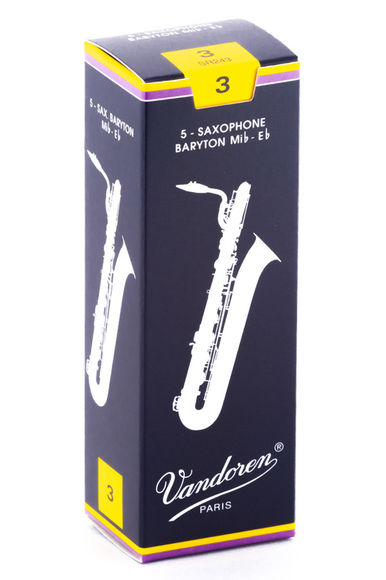 Vandoren Traditional Baritone Saxophone Reeds (Box of 5)