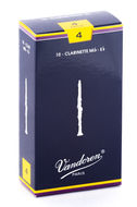 Vandoren Traditional Eb Clarinet Reeds (Box of 10)