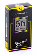 Vandoren 56 Rue Lepic Bb Clarinet Reeds (Box of 10)